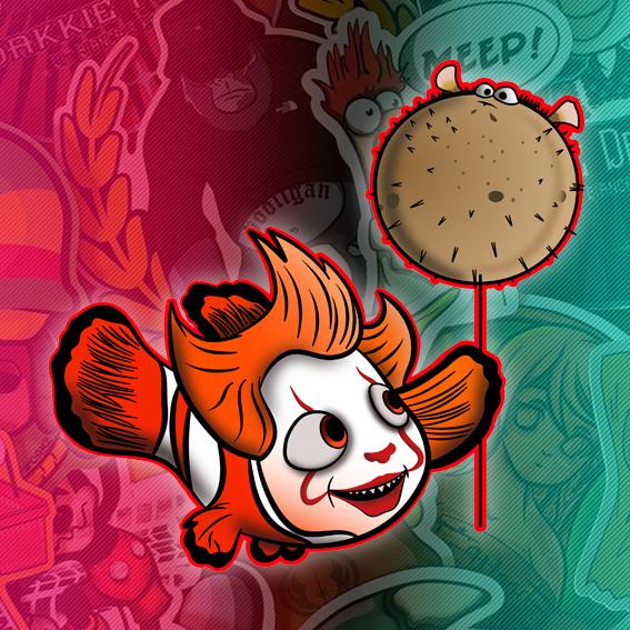 Stickers ClownFish