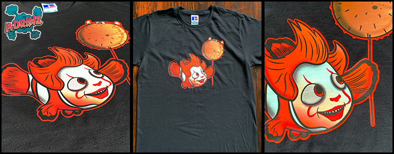 Character Mashup - Clownfish