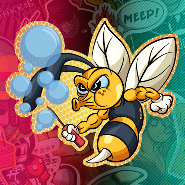 Stickers-BubbleBee